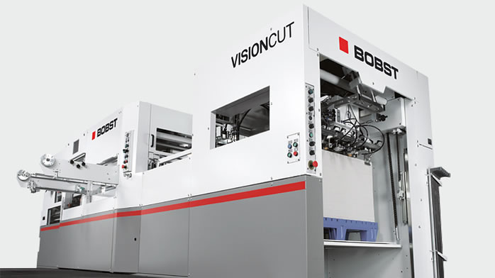 Image of used bobst sp 104-er die cutter autoplatine