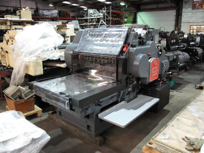 Image of Used Heidelberg SBG Cylinder Converted For Cutting And Creasing For Sale