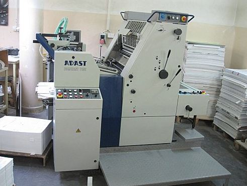 Image of used Adast Dominant 715 printing press