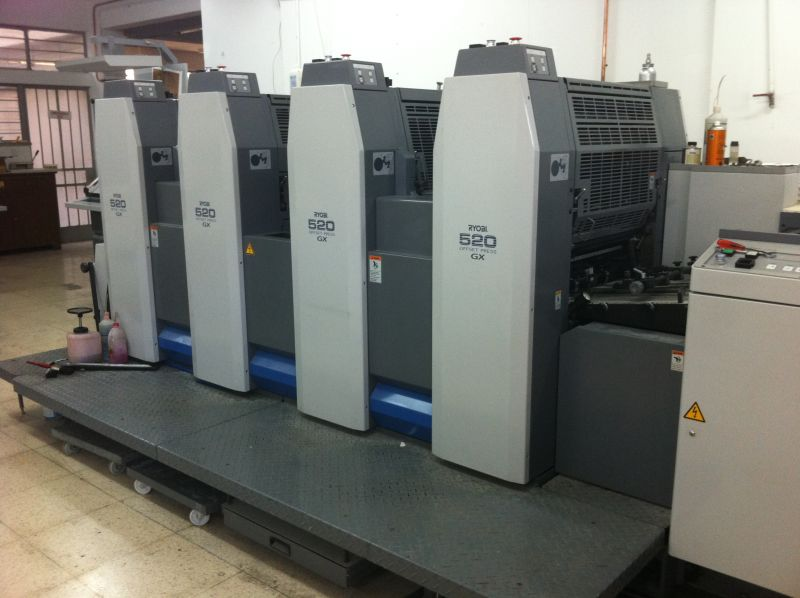 Image of Used Ryobi 524 GX printing press