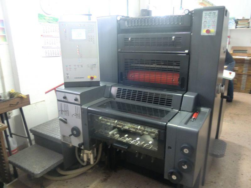 Bild verwendet Heidelberg Printmaster 52-1 Druckmaschine