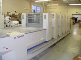 Image of used Sakurai Oliver 566 SI+L printing press