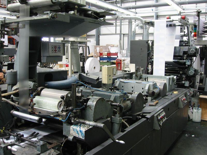 Bild von gebrauchten Winkler & Dünnebier 202.00 Umschlag Maschine Zu verkaufen