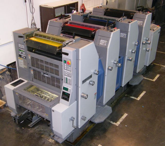Image of used Ryobi 524HE printing press