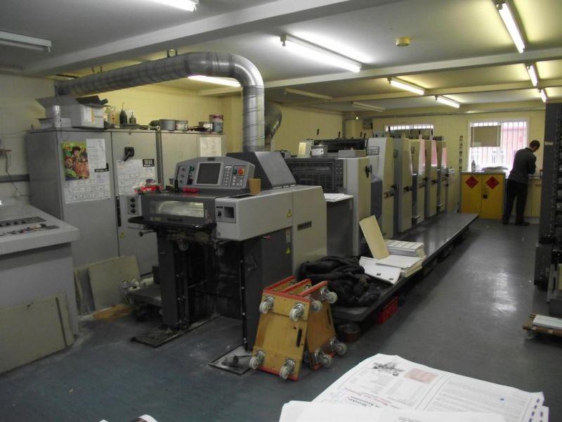 Image of used Ryobi 525 HXX+L printing press