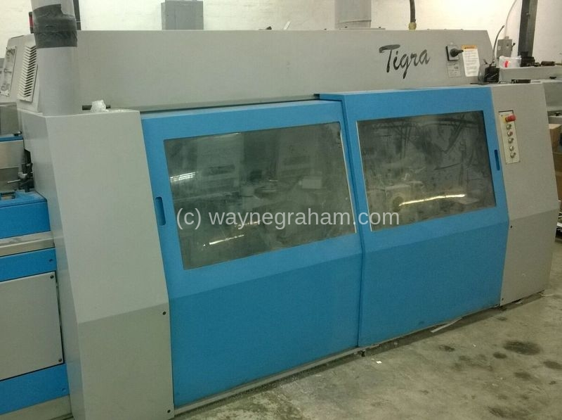 Image of Used Muller Martini Tigra Perfect Binder For Sale