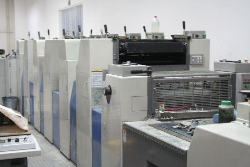 image of used ryobi 526 HXX+L printing press