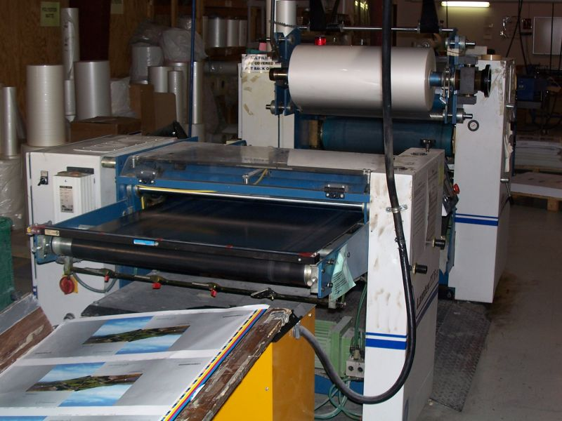 Image of used Lamtex TI 76 laminator