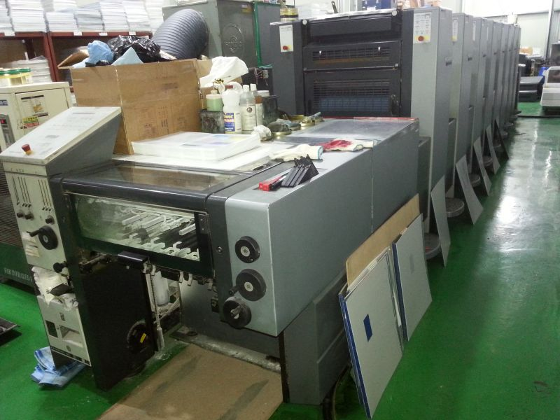 Image of used Heidelberg Speedmaster 52-8-P-H printing press