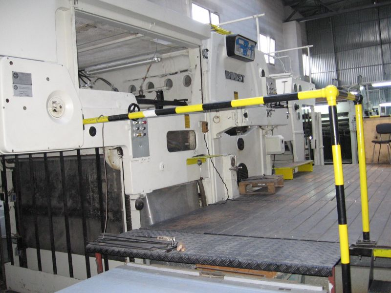 Image of used Bobst SP 1650-E die cutter