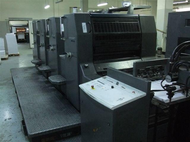 Image of used Heidelberg Printmaster 74-4 printing press