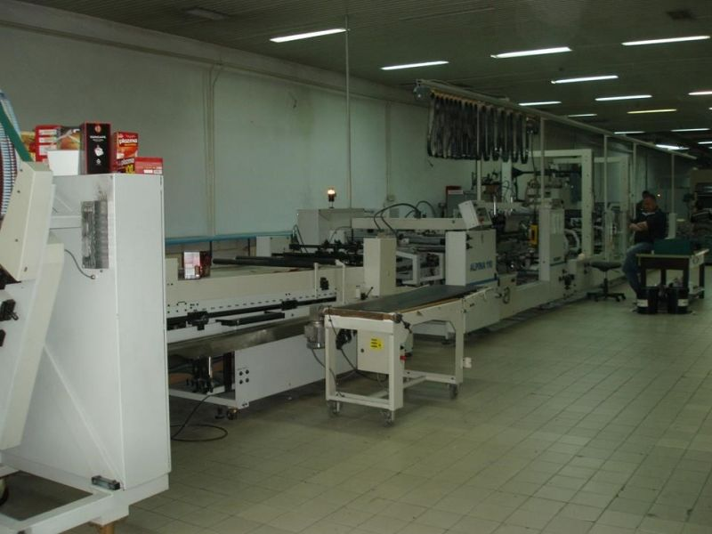 Image of used Bobst Alpina 110 folder gluer