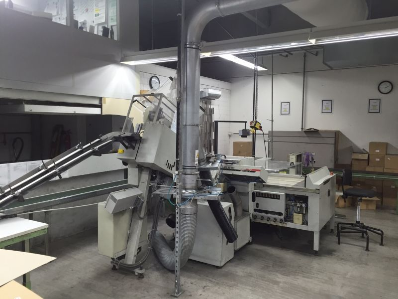 Image of Used Blumer Atlas AG 110 Automatic Label Punching Machine For Sale