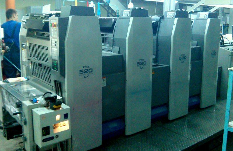 Image of used Ryobi 524GX printing press