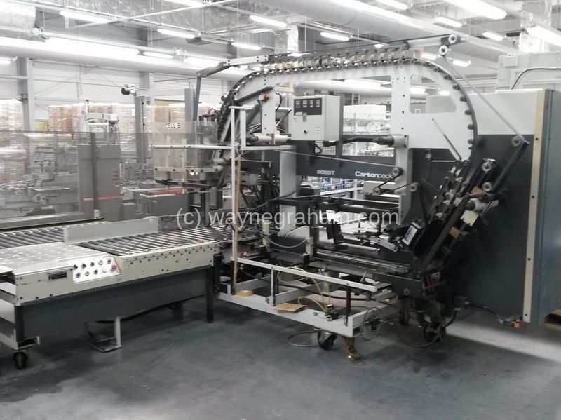 Image of Used Bobst Cartonpack Fully Automated Packing Station For Sale