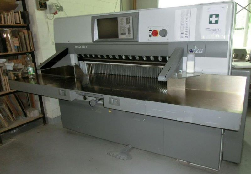 Image of used Polar 137 X guillotine