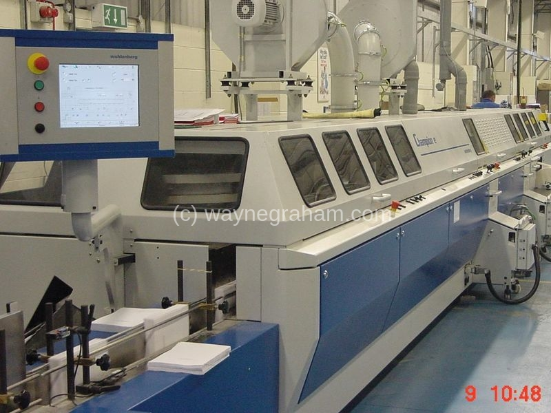 Image of Used Wohlenberg Champion 8000 E Perfect Binder For Sale