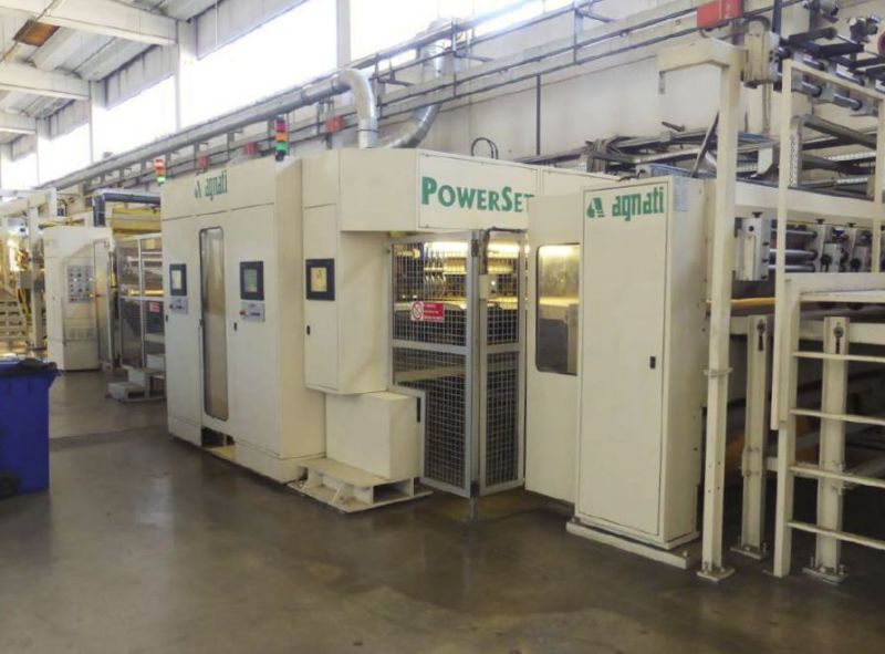 Image of Used Agnati Power Set Corrugated Slitter For Sale
