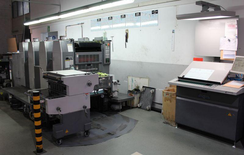 Image of used Ryobi 524 GX printing machine