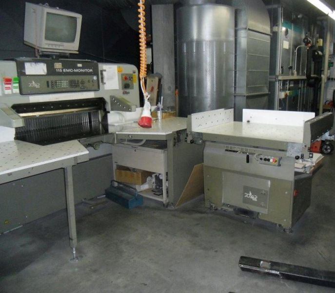Image of used Polar 115 EMC-MON guillotine