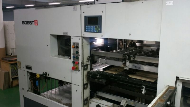 Image of Used Bobst SP 104-E die cutter