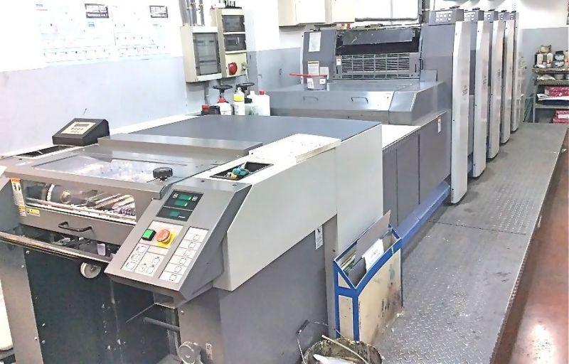 Image of used Ryobi 525 GX printing press