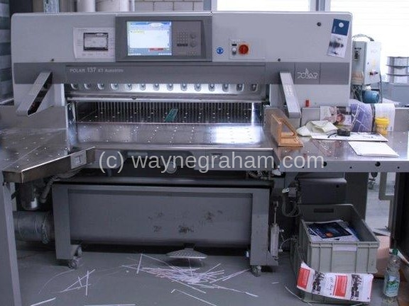 Image of Used Polar 137 XT Autotrim Guillotine For Sale