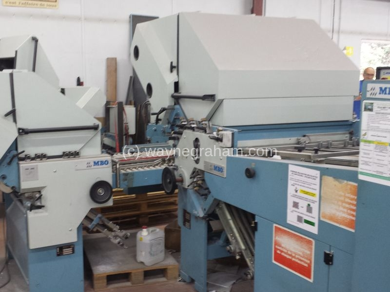 Image of Used MBO T1020 Folder For Sale