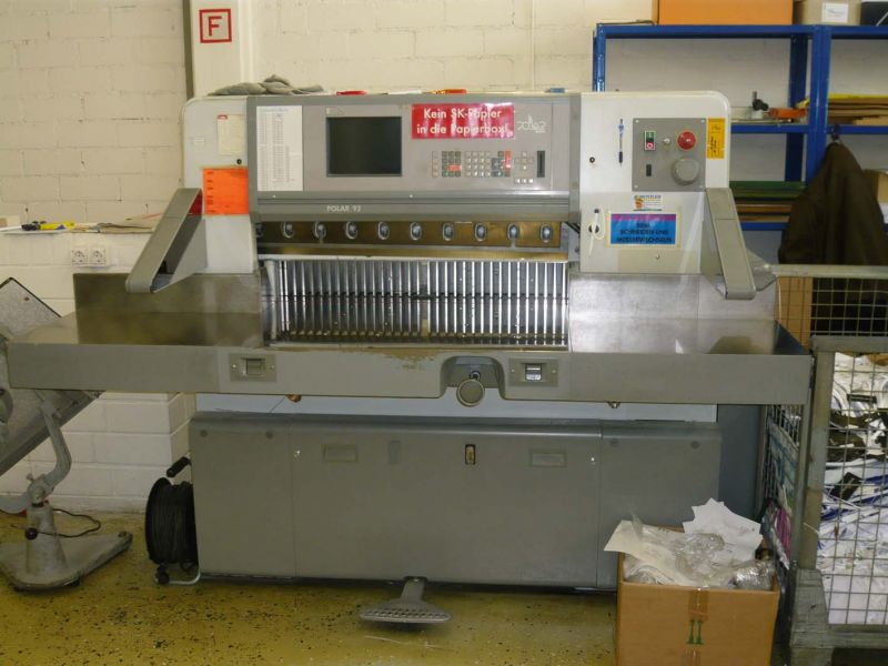 Image of used Polar 92 guillotine