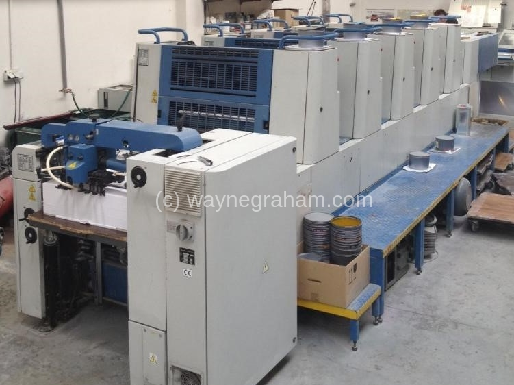 Image of  Used KBA Performa 74-5 Five Colour Printing Press