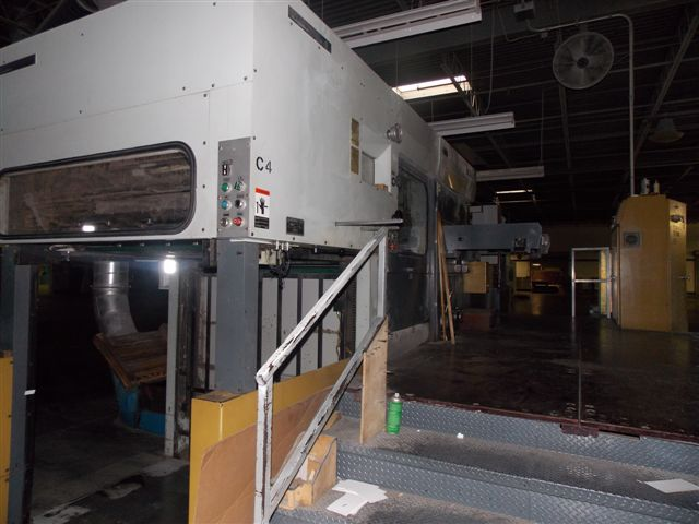 Image of used Bobst SP 130-E die cutter