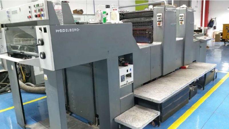 Image of used Heidelberg Speedmaster 74-2-H printing press