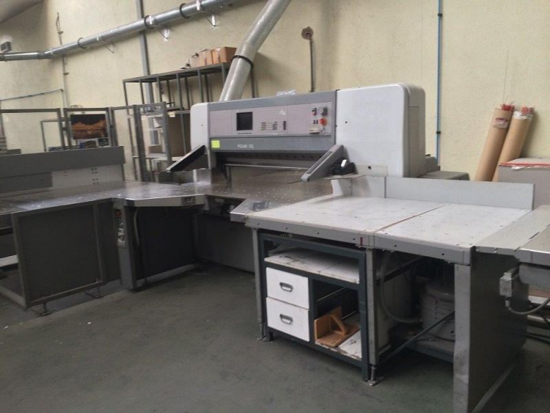Image of used Polar 155 ED guillotine