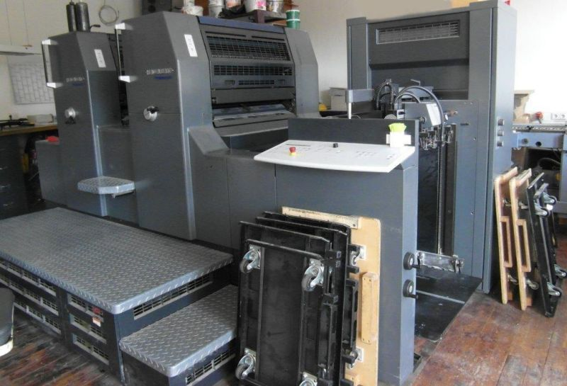 Image of Used Heidelberg Printmaster 74-2 Two Colour Printing Press For Sale