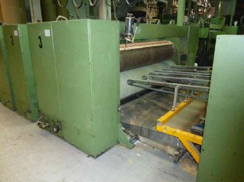 Used Curioni 2200 NT Flexographic Printing Press With Rotary Die Cutting For Sale