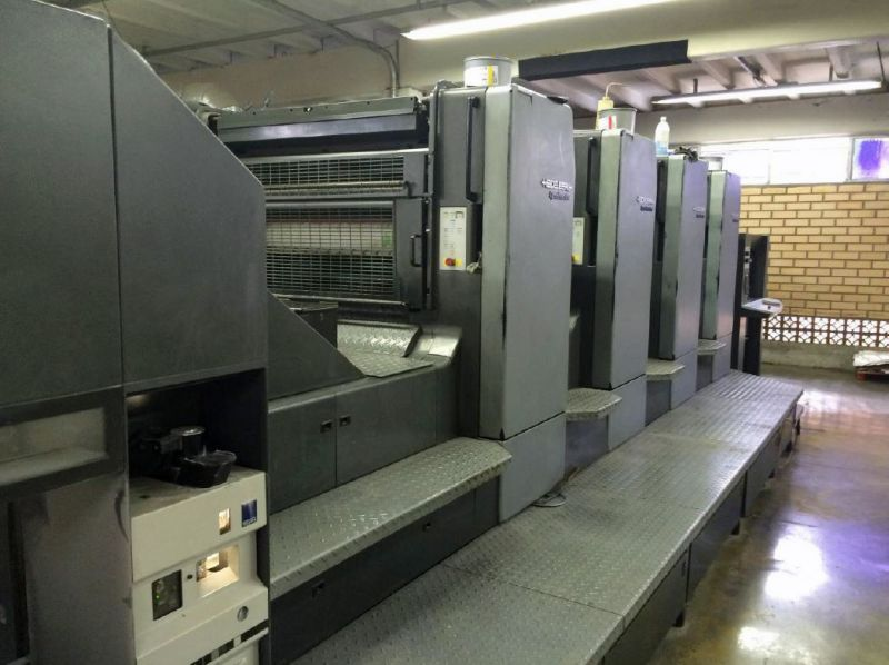 Image of used Heidelberg Speedmaster CD 102-4 printing press