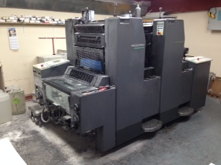Image of used Heidelberg Speedmaster 52-2 printing press