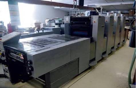 Image of Used Heidelberg Speedmaster 52-4-H Printing Press