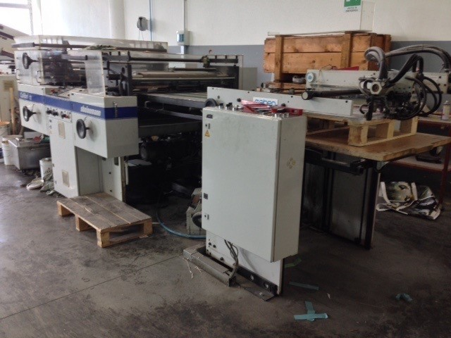 Image of Used Steinemann Colibri 72 Coater For Sale