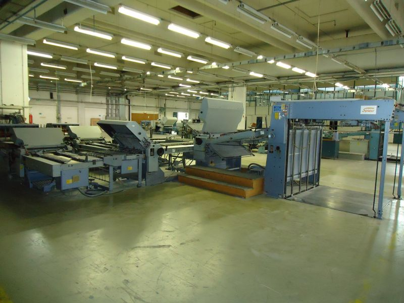 Image of Used Stahl TFU 112-2 Folder For Sale