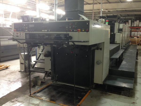 Image of Used Komori Lithrone 640+C Printing Press For Sale