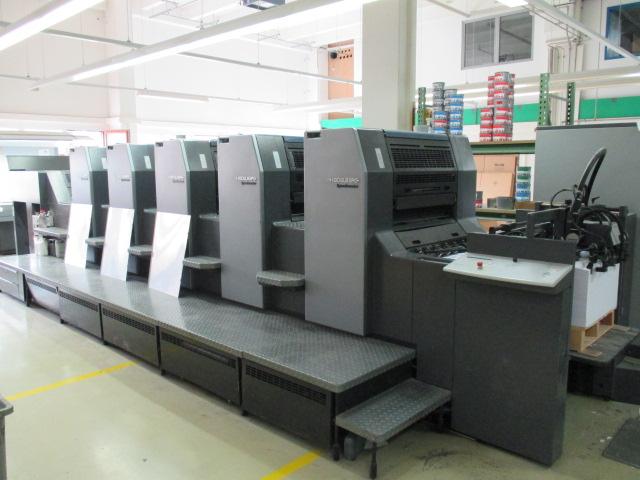 Image of Used Heidelberg SM 74-5-P-H Printing Press For Sale