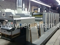 Image of Used Ryobi 758 Eight Colour Printing Press For Sale