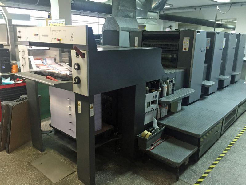 Image of Used Heidelberg SM 74-4-P-H Printing Press For Sale