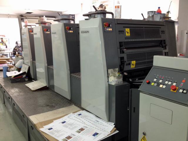 Bild von gebrauchten Komori Spica 429 P Printing Press For Sale