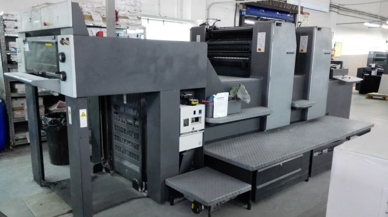 Image of Used Heidelberg SM 74-2-P-H Two Colour Printing Press For Sale