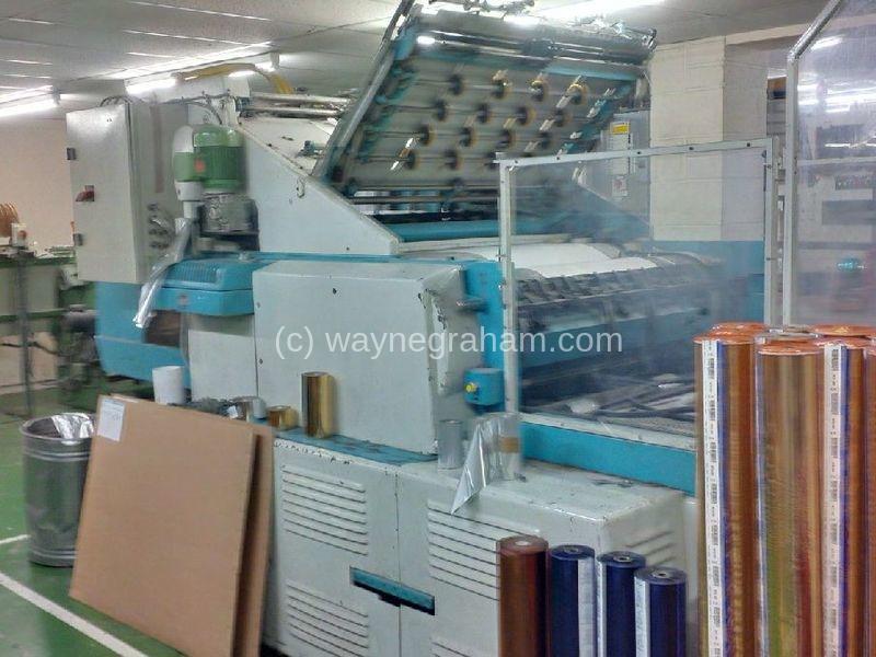 Image of Used Miller Johannisberg 104 Hot Foiling Machine For Sale