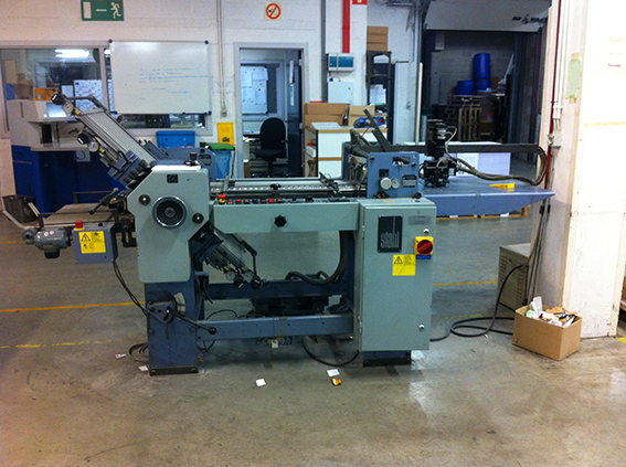 Image of Used Stahl F 52A Folding Machine For Sale
