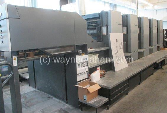 Image of Used Heidelberg SM 102-5-P Five Colour Printing Press