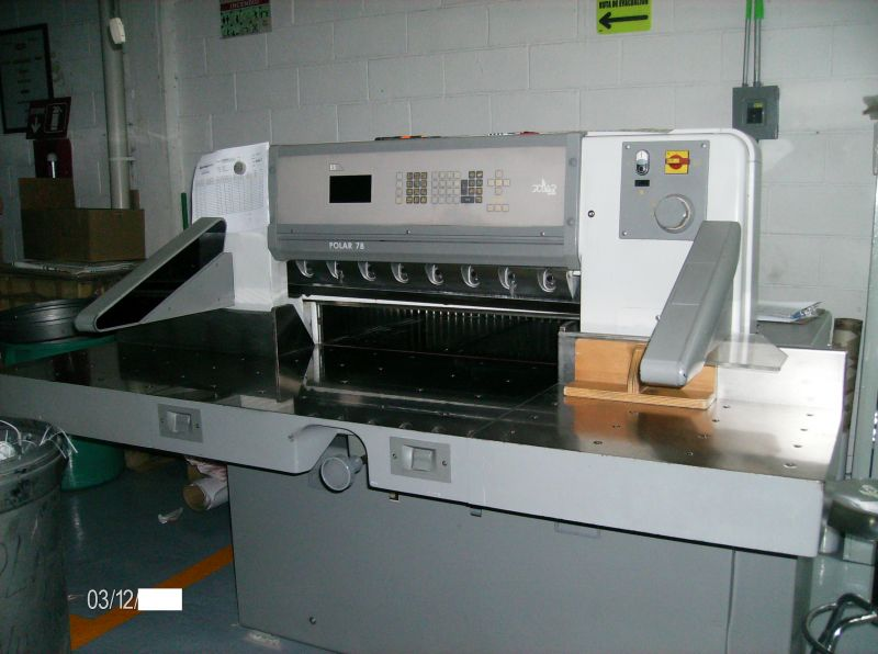 Image of Used Polar 78 ES Guillotine For Sale
